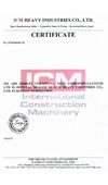 Сертификат ICM